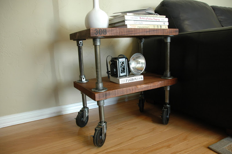 simmons modern furniture metal side table 2. vintage industrial simmons metal side table 308 shelf111 modern furniture 2