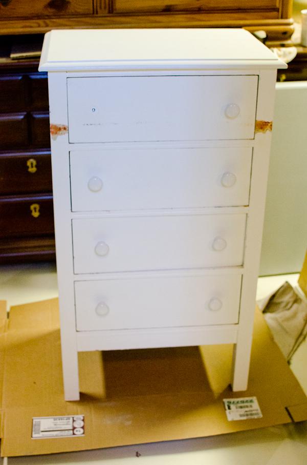 white cabinet dresser