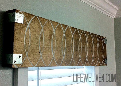 Guest Post: Life We Live 4 – Industrial Wooden Valance