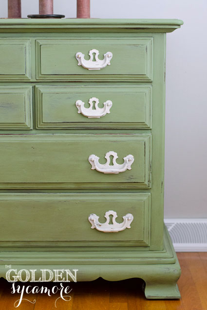 ASCP Custom Mix Green Dresser