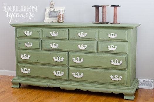 The Golden Sycamore Annie Sloan Chalk Paint Review