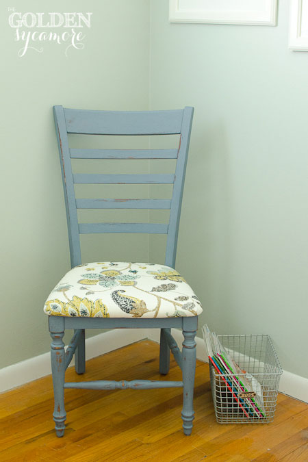 The Golden Sycamore: Painted Ladder Back Chair
