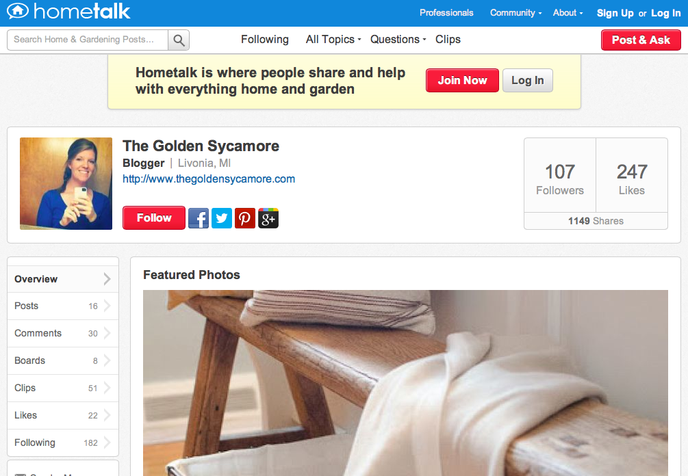 Hometalk Screenshot