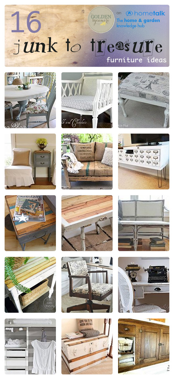 16 Junk to Treasure Furniture Ideas