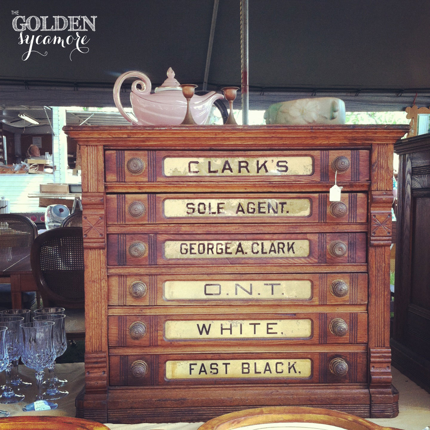 The Golden Sycamore: A Day at the Flea Market