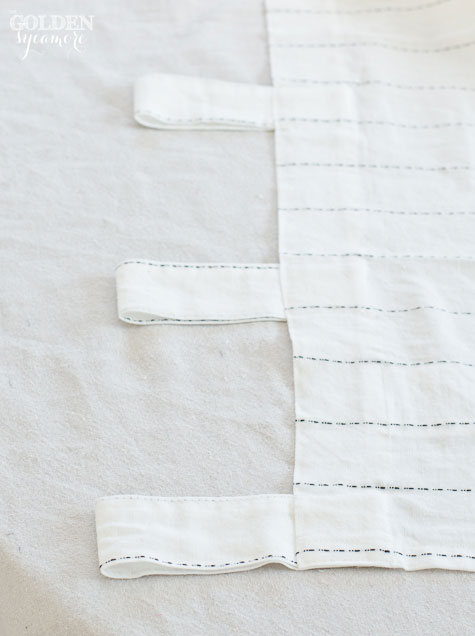 How to Change Tab Tops to Pocket Curtains