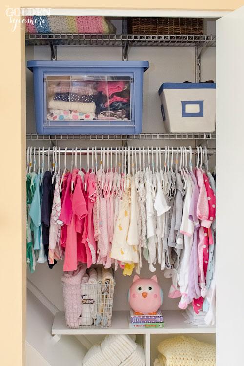 Nursery Progress : Closet Organization