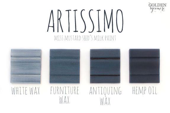 Artissimo Finishes #mmsmilkpaint #artissimo