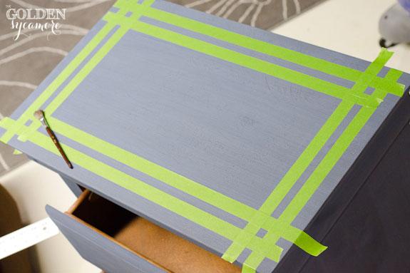 Use Frog Tape to Make Design