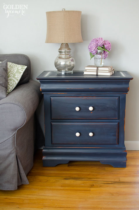 Artissimo Nightstand with Old White Detail