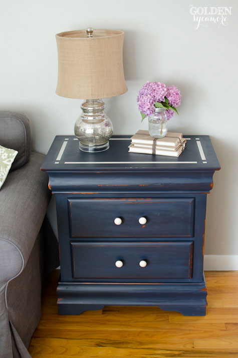 Artissimo Nightstand with a Modern Twist