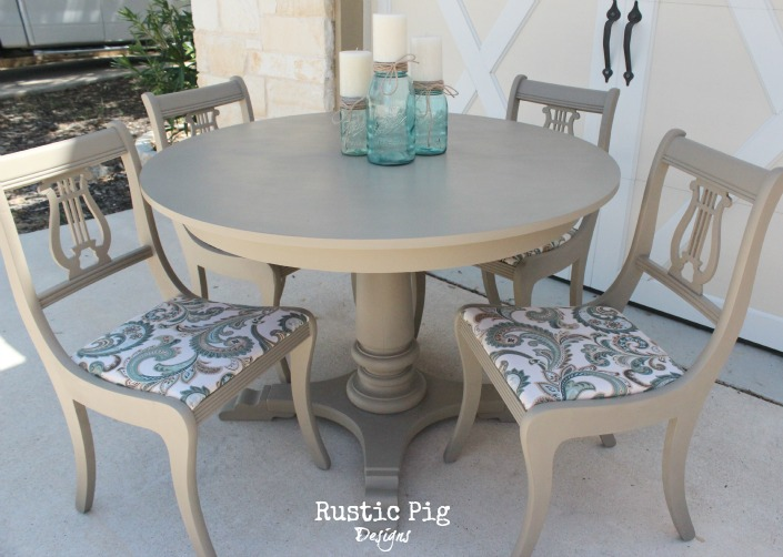 Table and Chairs by The Rustic Pig