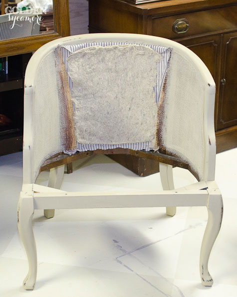 Incroyable How To Reupholster A Cane Chair With Tufted Back