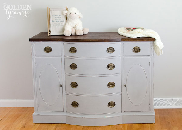 Updated Changing Table from thegoldensycamore.com