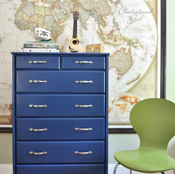Napoleonic Blue Dresser from Centsational Girl