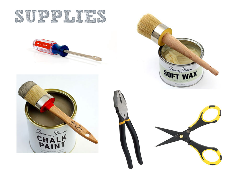 Supplies Needed to Get a Chair Ready for Reupholstery