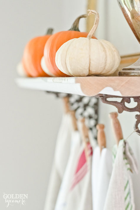 Tea towels and pumpkins  #fall