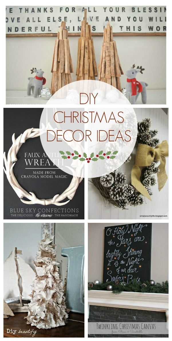 Diy christmas decor ideas the golden sycamore Christmas decorating diy