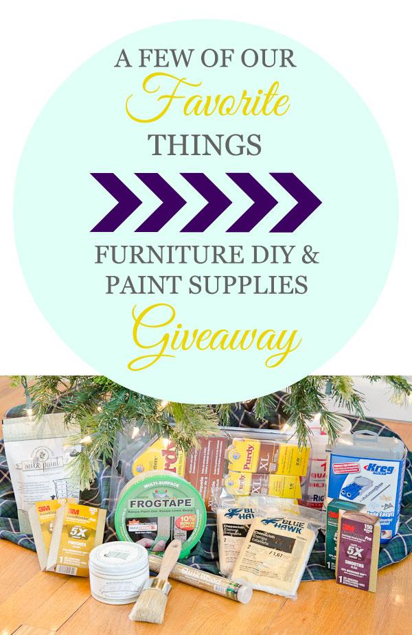 , Furniture Painter Favorite Things Giveaway