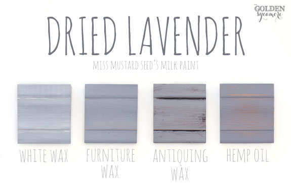 Dried Lavender Finishes Mmsmilkpaint Driedlavender