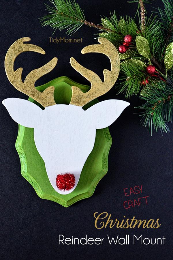 Diy Christmas Reindeer Amp 8 Diy Reindeer Silhouettes The