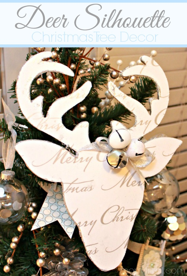 DIY Reindeer Silhouette