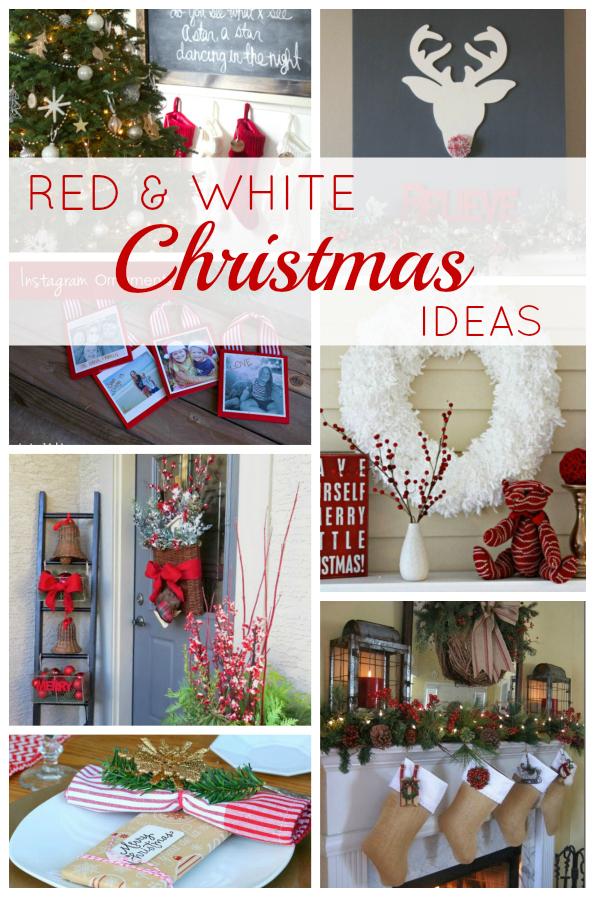 Red & White Christmas Ideas