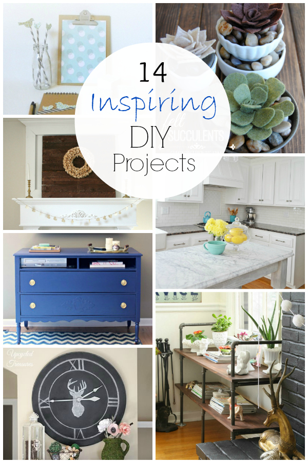 14 Inspiring DIY Projects