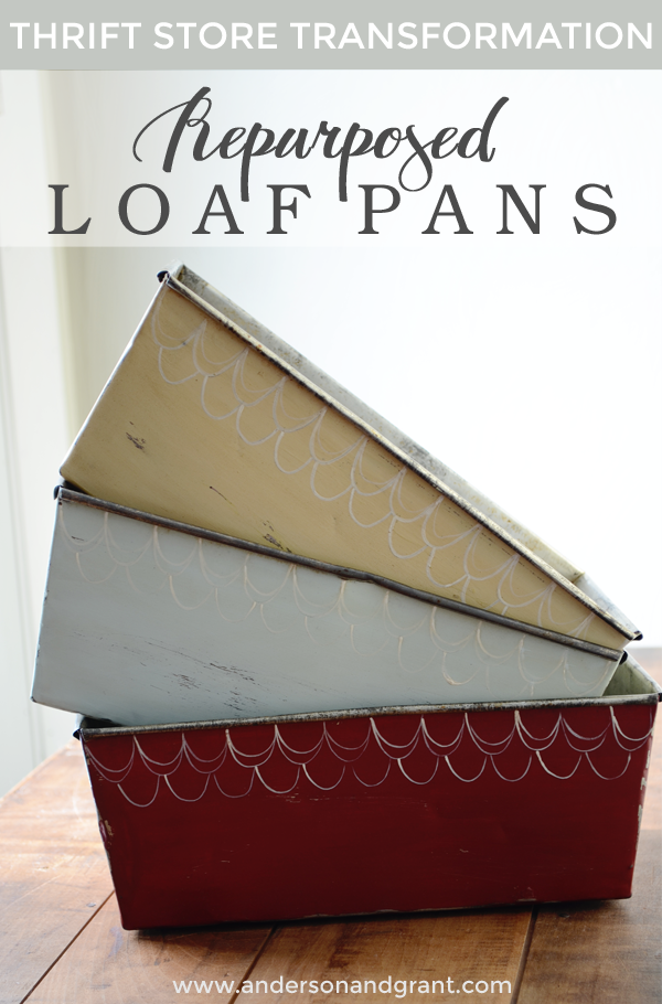 Repurposed Loaf Pans