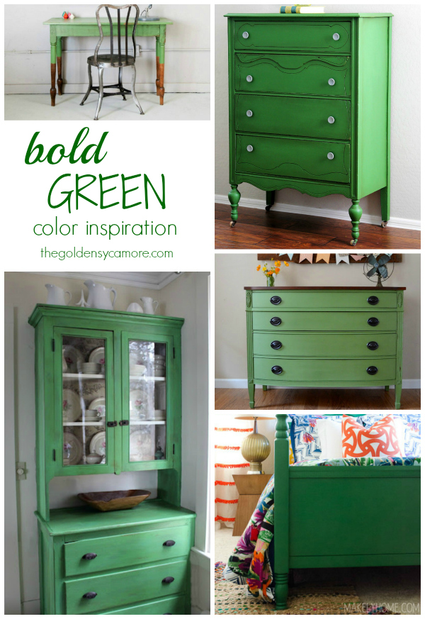 Going Green : Bold Color Inspiration