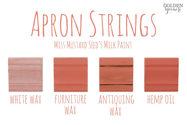 Apron Strings Finishes #MMSMP #mmsmilkpaint