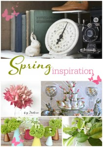 Spring Inspiration - Inspiration Gallery Link Party Features