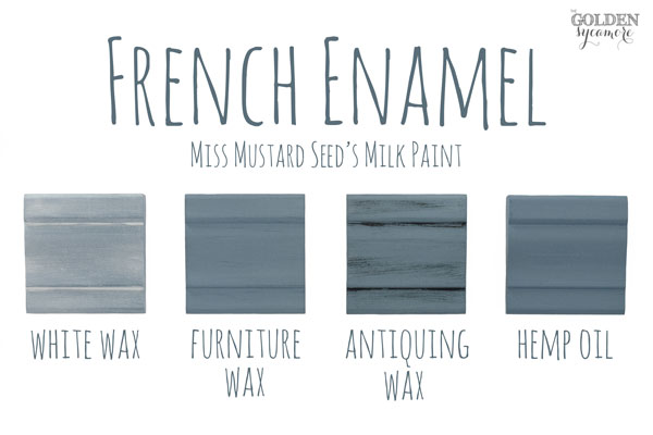 French Enamel Finishes #MMSMP #mmsmilkpaint