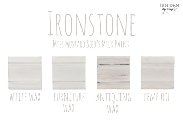 Ironstone Finishes #MMSMP #mmsmilkpaint
