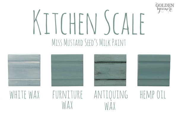 Kitchen Scale Finishes #MMSMP #mmsmilkpaint