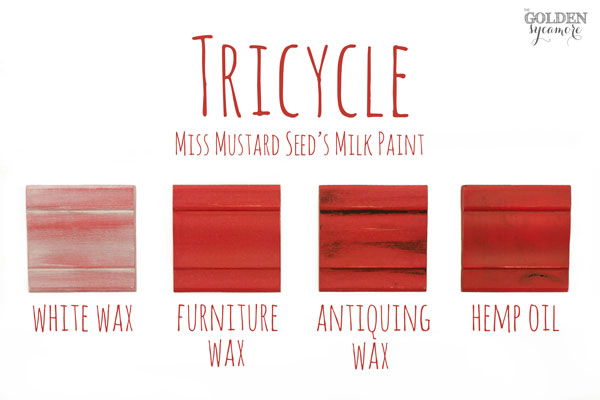 Tricycle Finishes #MMSMP #mmsmilkpaint