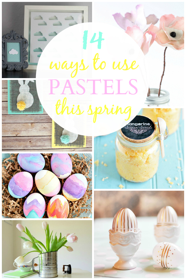 14 Ways to Use Pastels this Spring – Inspiration Gallery Features