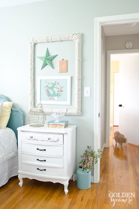 Little girls' room makeover - cottage style