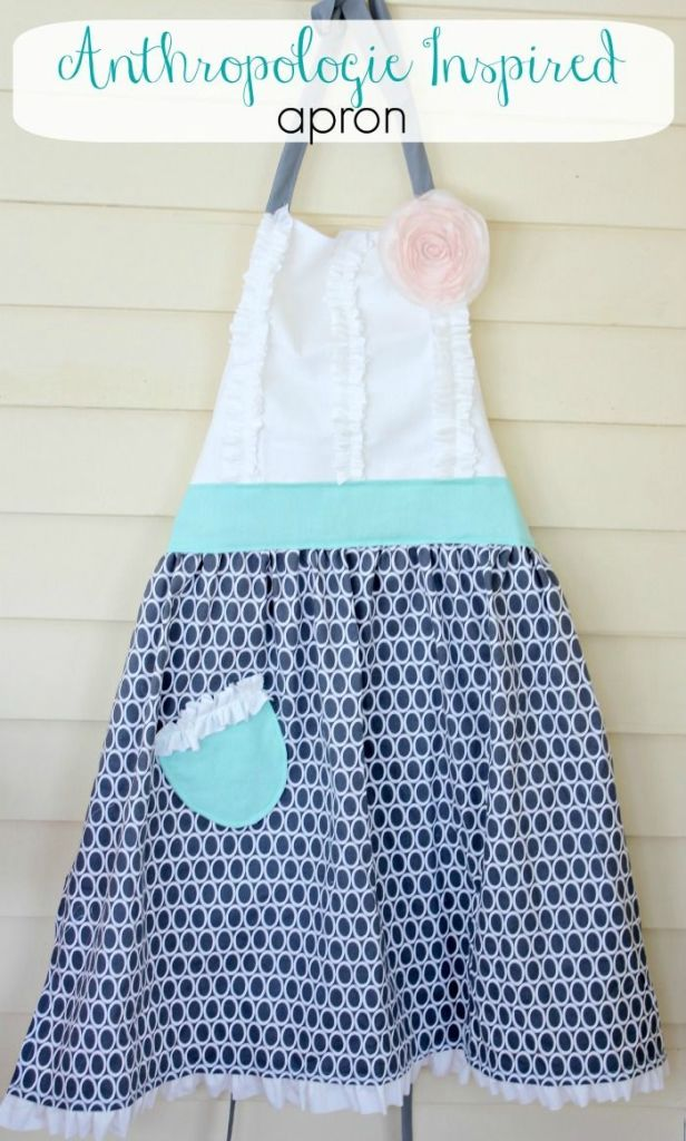 Decor, DIYs, and Treats to Whet your Appetite - diy apron