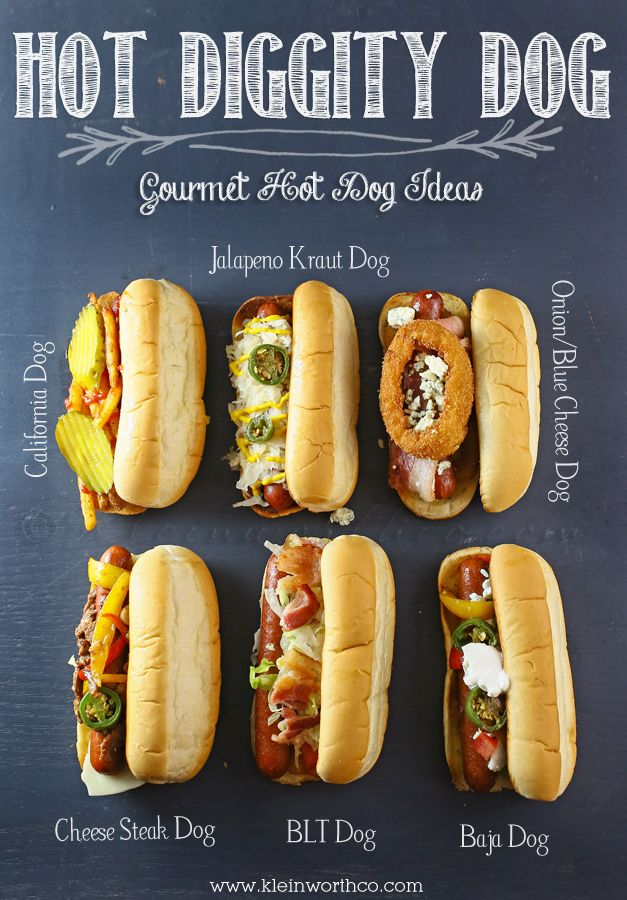 Delicious Summer Recipes : Gourmet Hot Dog Ideas