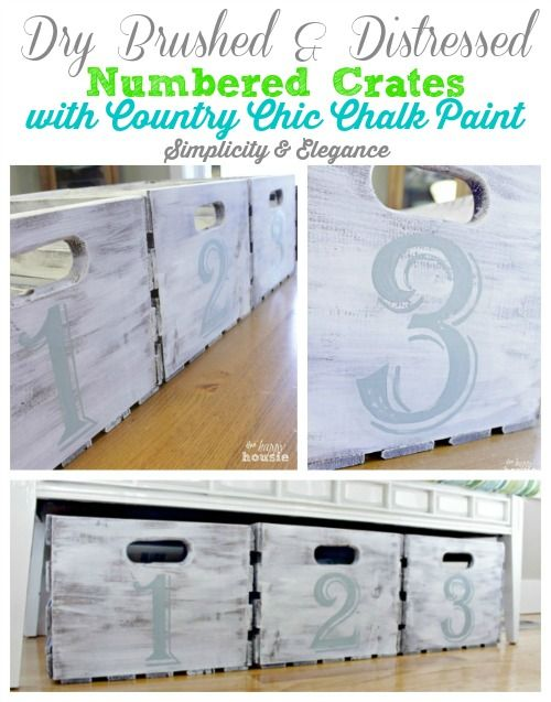 Decor, DIYs, and Treats to Whet your Appetite - numbered storage bins