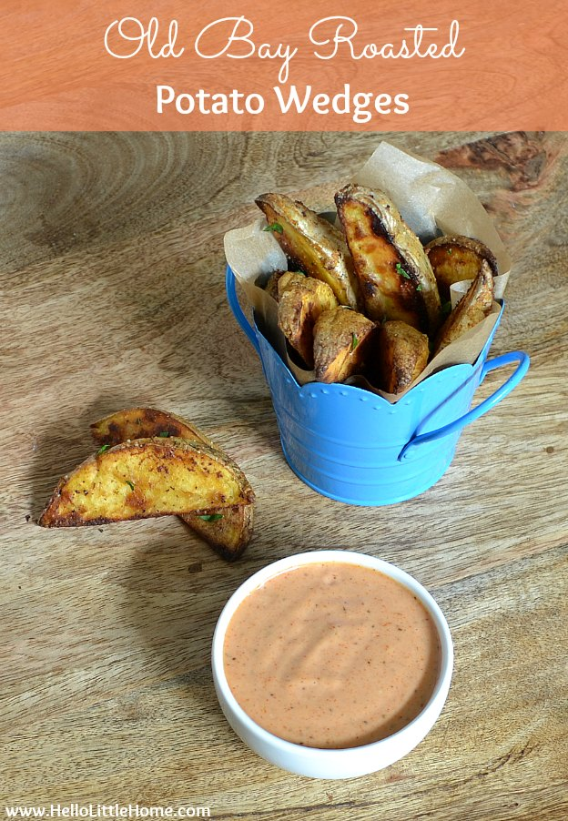Delicious Summer Recipes : Roasted Potato Wedges