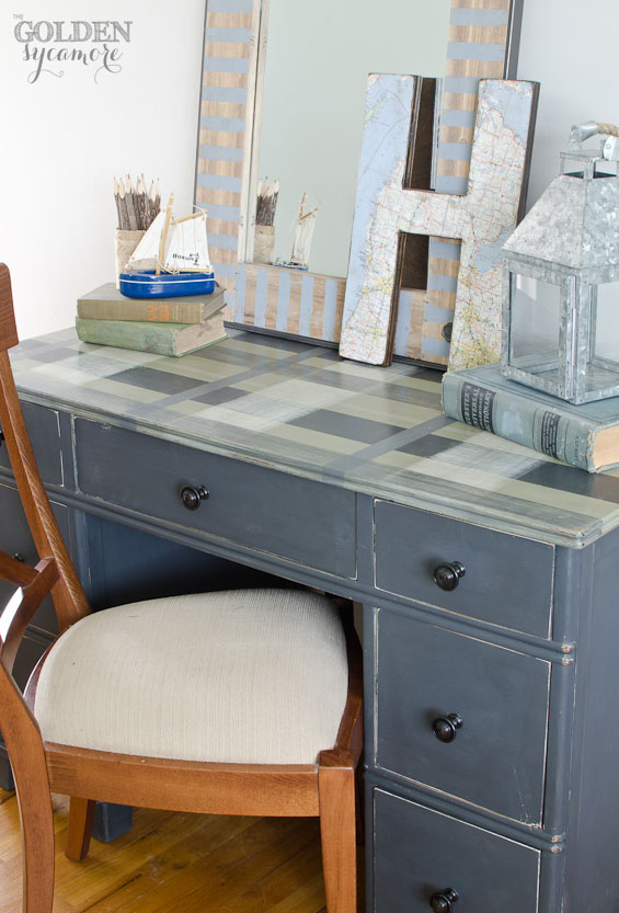 Plaid Desk & The Joys of Selling Furniture