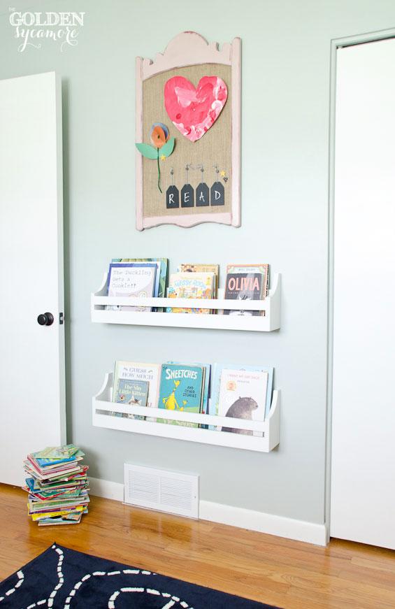 Big girl bedroom makeover the golden sycamore for Diy little girls room