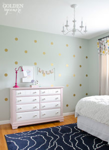 Big Girl Bedroom Reveal : Whimsy & Sophistication