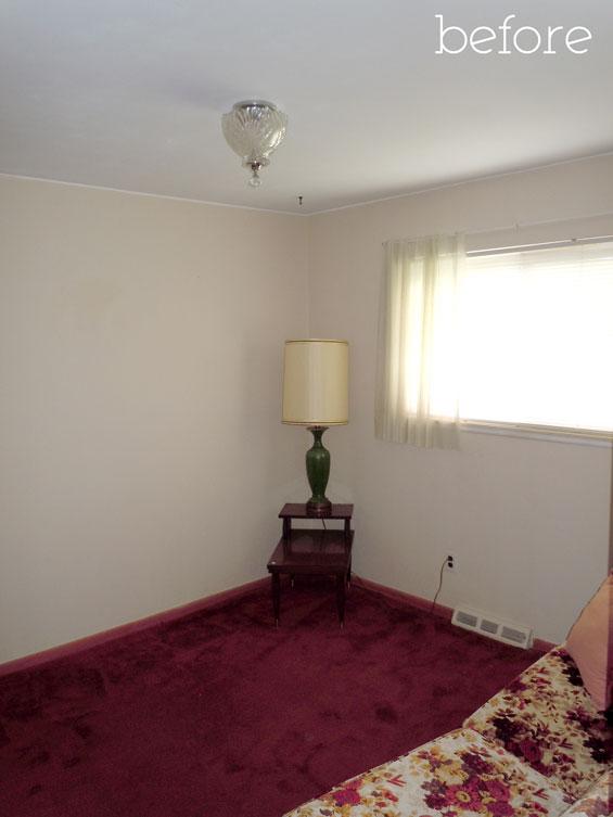 Little girl bedroom - before