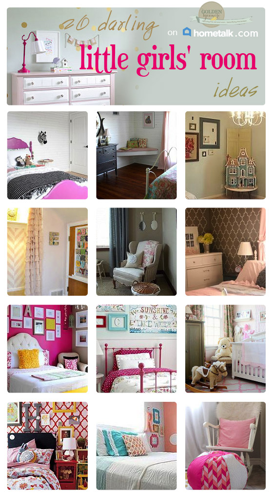 20 little girls' room decor ideas