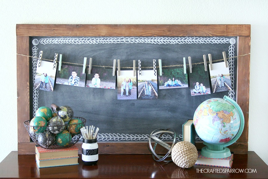 Decoupage-Clothespin-Photo-Display-14