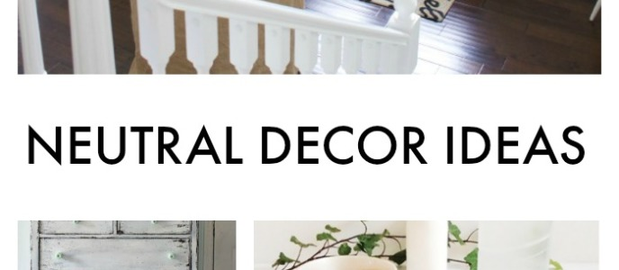 Gorgeous Neutral Decor Ideas