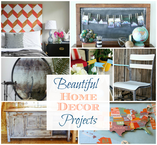 Pinterest Home Decor 2014: Beautiful Home Decor Projects